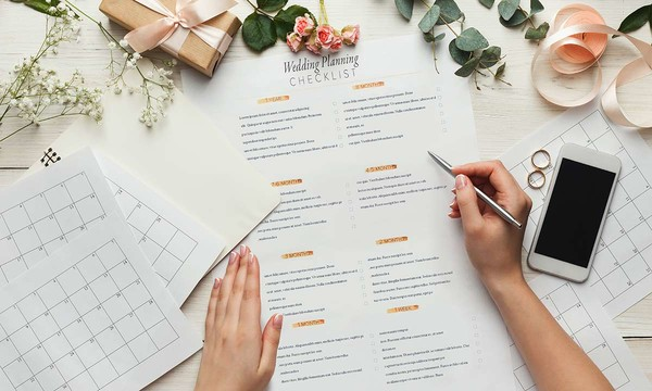 The Ultimate Wedding-Planning Checklist and Timeline
